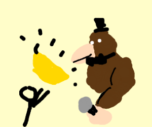 Donkeykong Fazbear demands a sacrifice banana