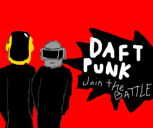 Smash bros with Daft Punk