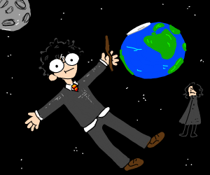 Harry Potter in space
