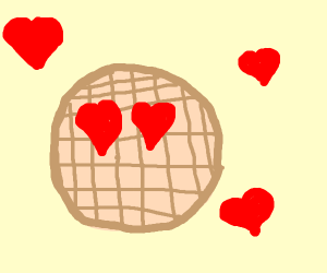 we love waffle and waffle loves us <3