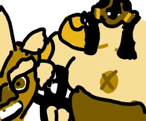Junkrat and Roadhog