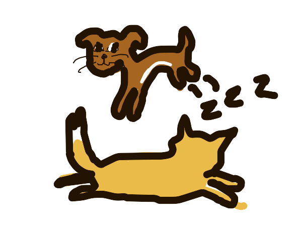 the dog jumped over the lazy fox