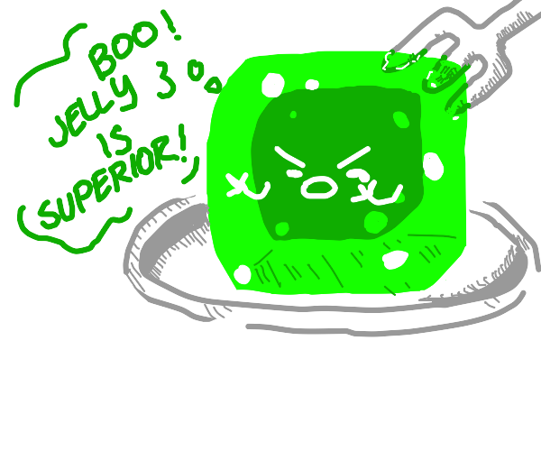 Jelly Cube booing