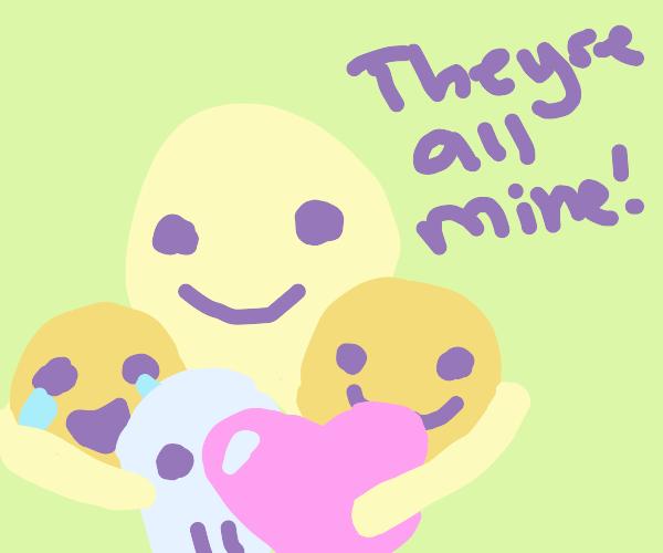 emoji horder
