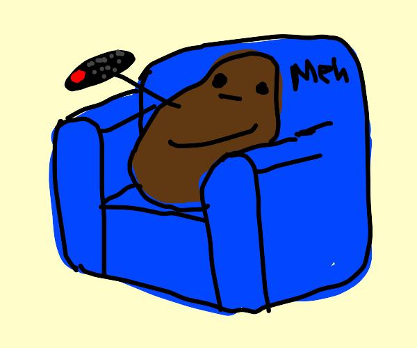 Remote control couch potato