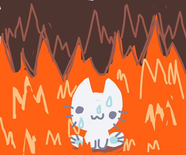 when ur cute but somehow find urself in hell