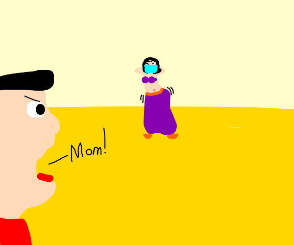 man calls mom from middle of the desert