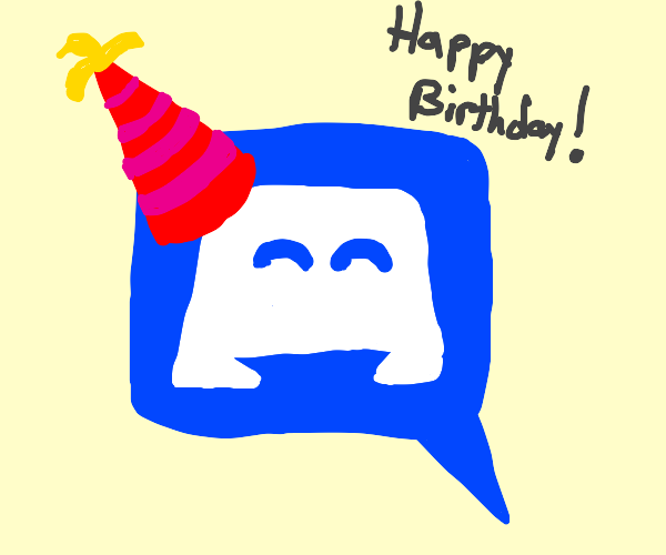Happy birthday Discord!