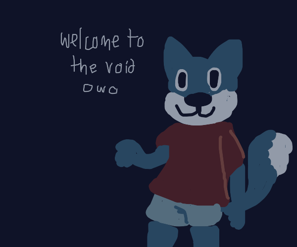 Furry welcomes you to the void