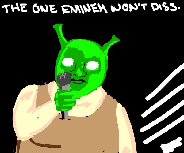 Shrek the rap god