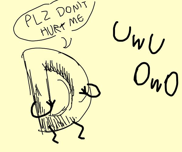 drawception D is scared of 'uwu' and 'owo'
