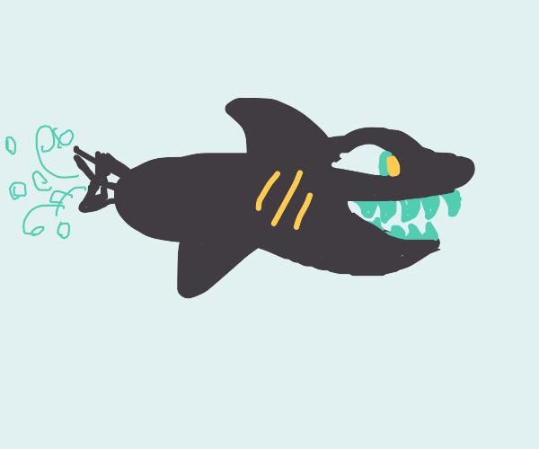 shark torpedo
