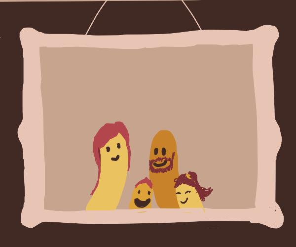 Worms happy family