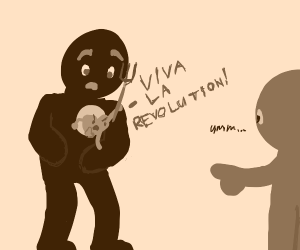 You have Revolution in your heart