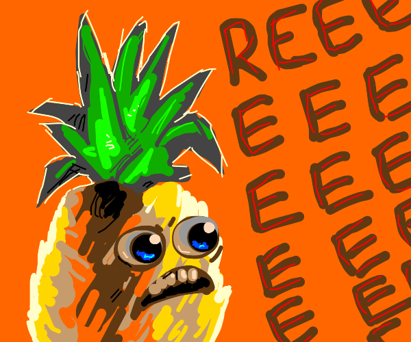 Mad pineapple man