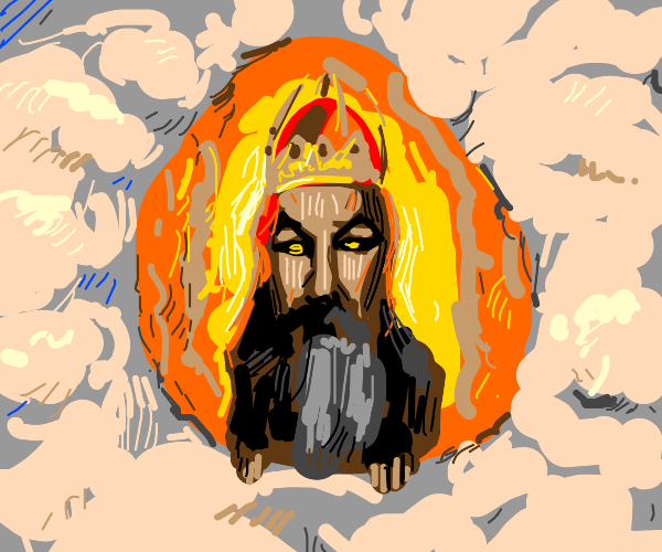 God from Monty Python and the Holy Grail