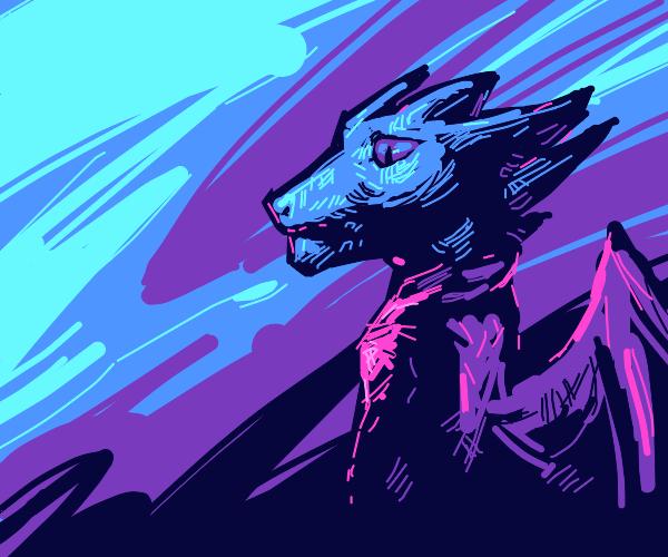 Dragon in the dawning Morning