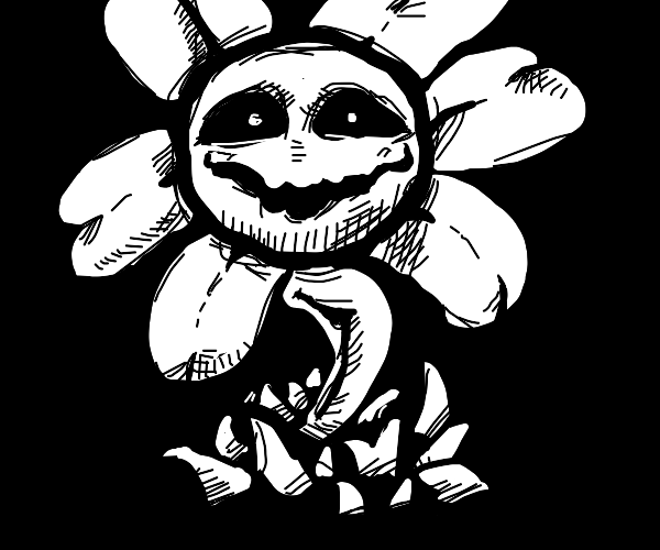 flowey(if you dont know flowey don't do this)