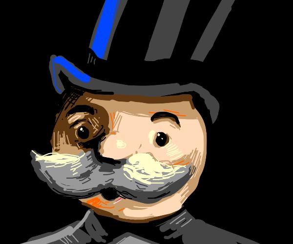 Monopoly Man.