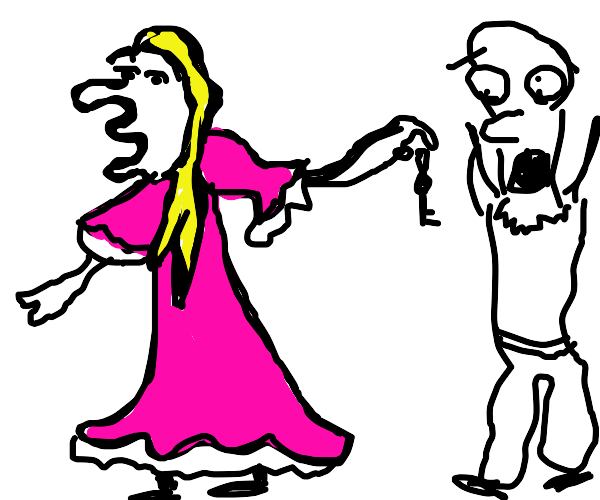 Princess breaking up with bf