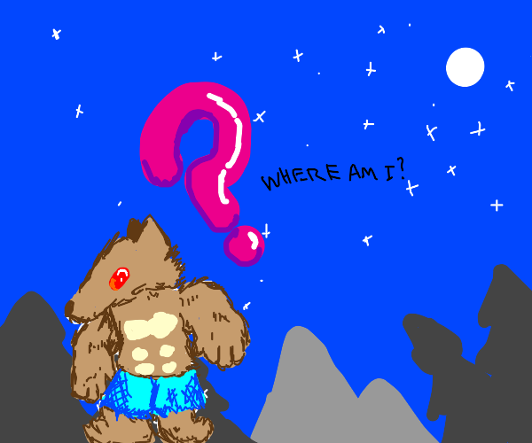 werewolf doesn't know where they are