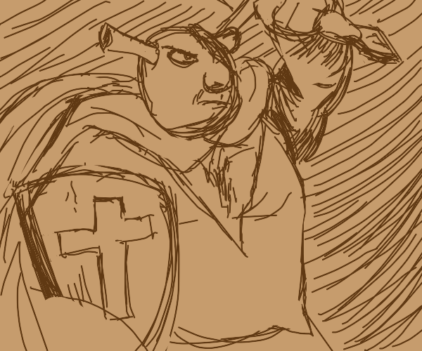 shrek the fearless warrior