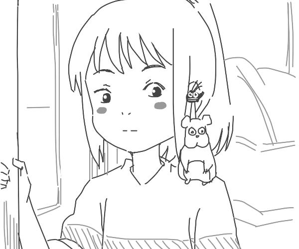 Chihiro in Spirited Away