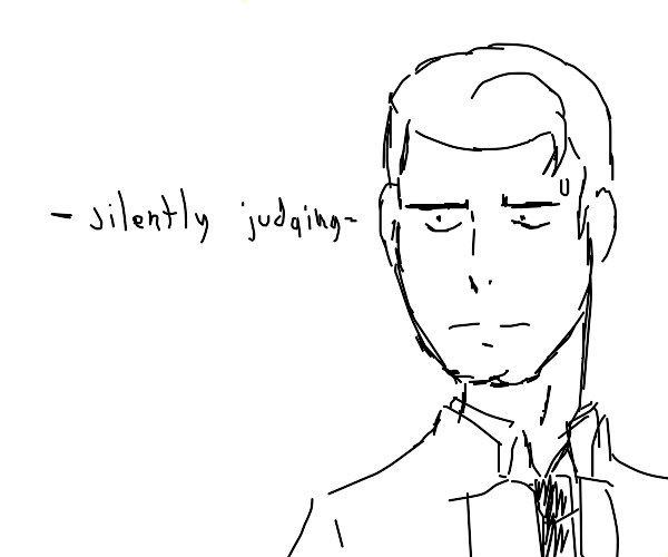 Connor android sent by cyberlife judging you