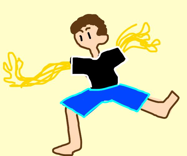His Palms are sweaty, knees weak arms spaghet