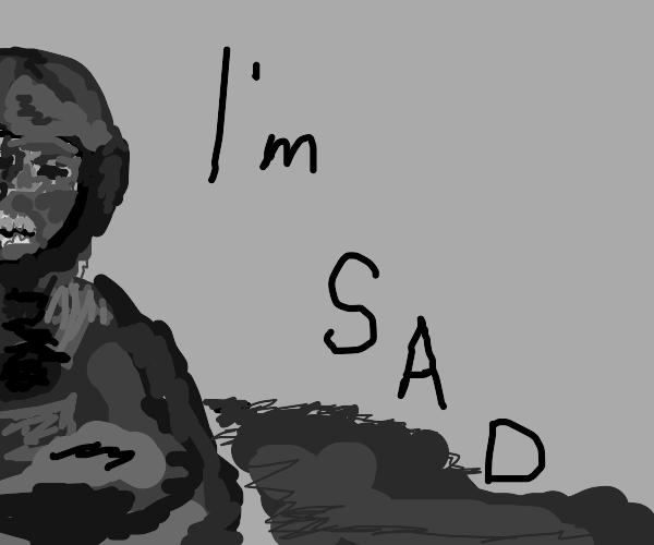 Depressed Star Trooper