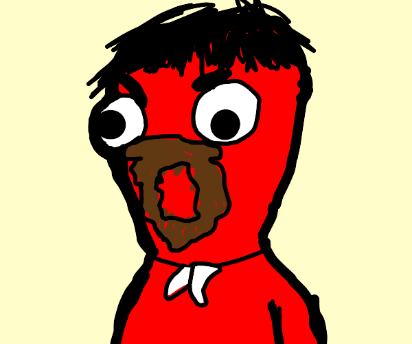 RED MAN GOES :O