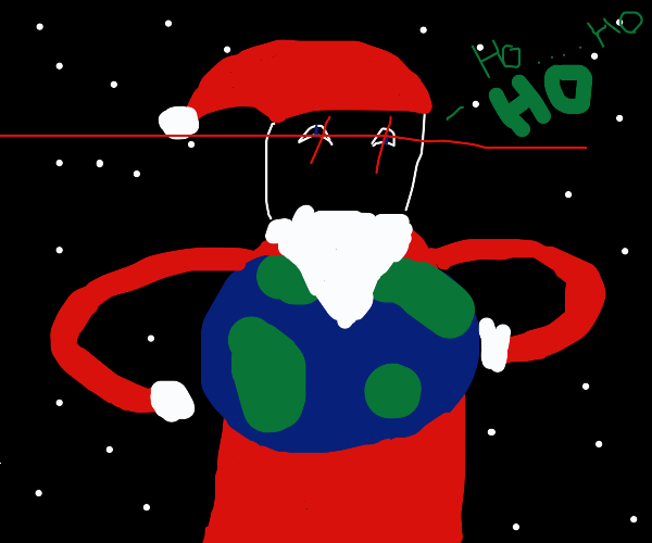 Santa controls the World