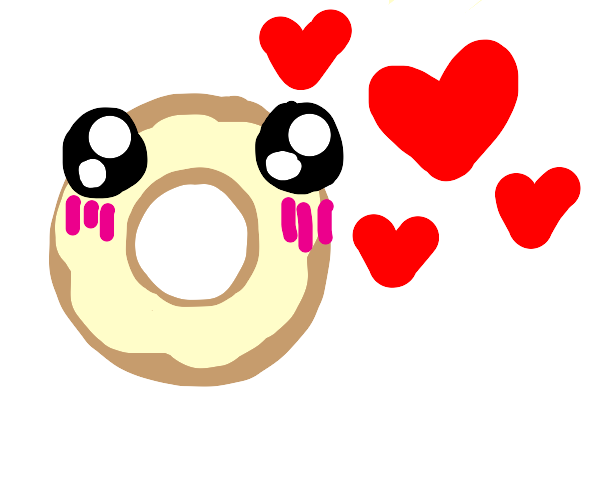 donut in love