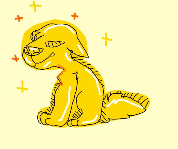 a shining dog :)
