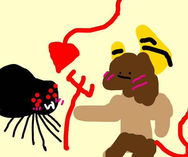 Satan X Spider? o-0