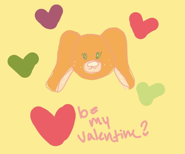 Be my puppy Valentine