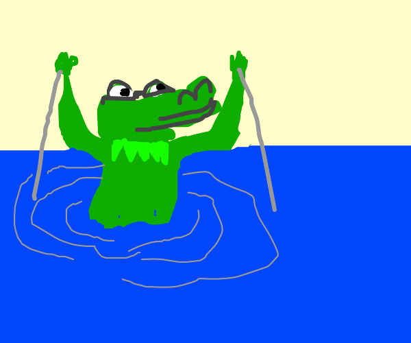kermit but with an alligator head needs help