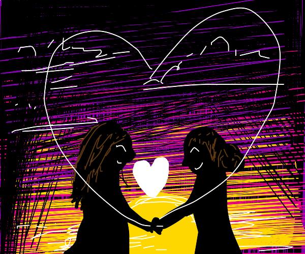 2 girls in love