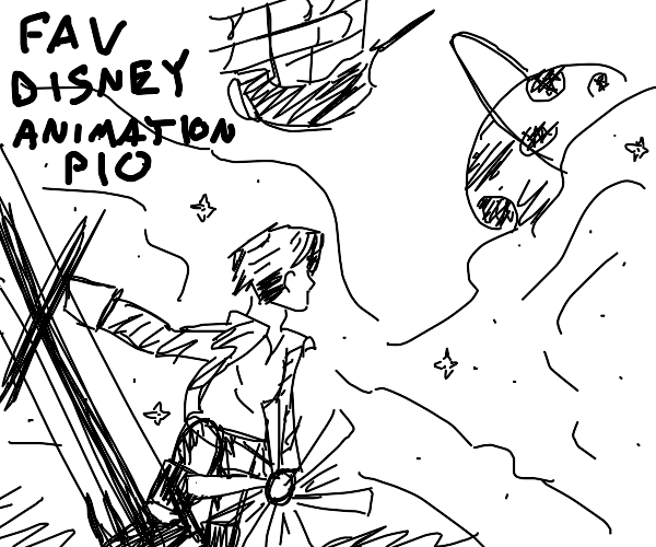 Fav Disney Animation PIO