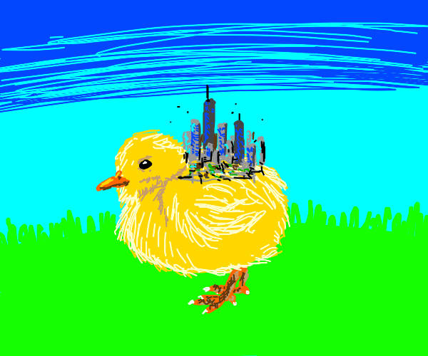 Chick holding city