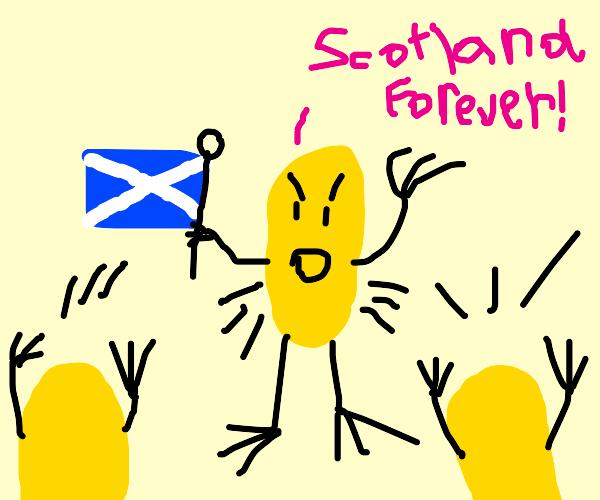 Scotland potato chips