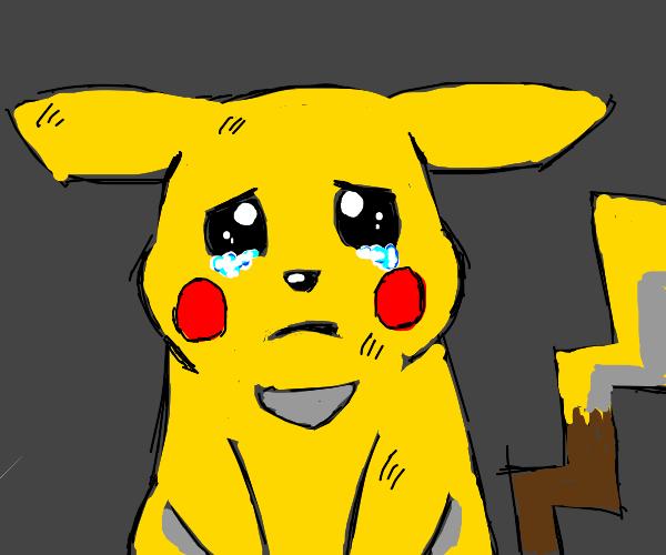 sad pikachu :(