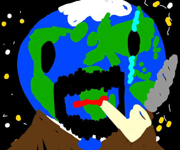 the planet earth is a gangster