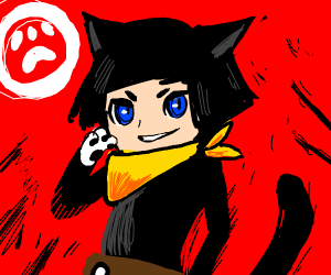Human Morgana from Persona 5 (?)
