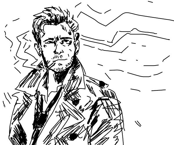 Brad Pitt is SMOKIN.