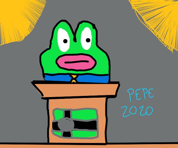 pepe for president