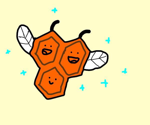 Orange bee Pokémon
