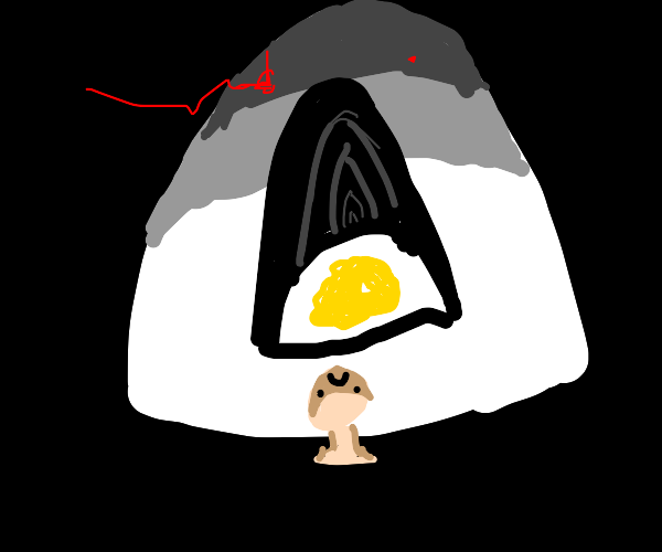 Egg turns the proverbial tables, eats man.