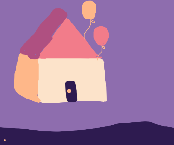 The house from Up
