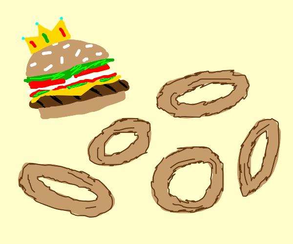 Burger King Oniony Rings